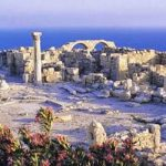 Ancient Kition and the modern world of Larnaka, Cyprus
