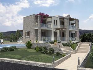 Tsivaras Residence Crete Exterior Building